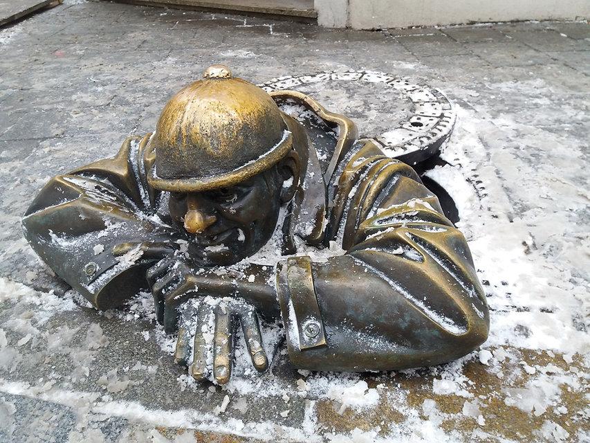 Чумил - символ Братиславы
