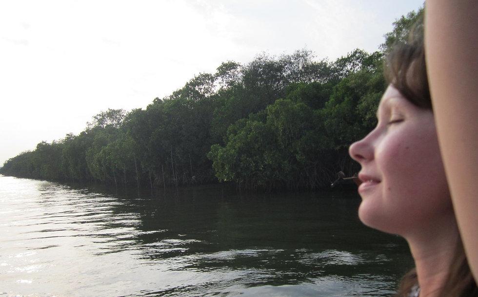 Плывем на пароме на остров Птиц