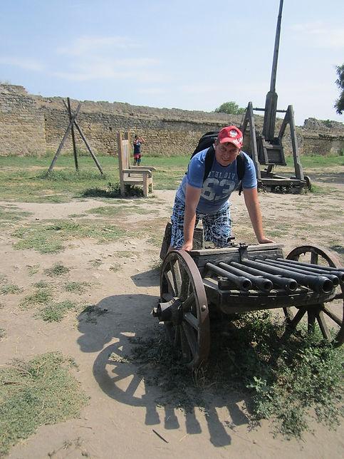 Старинный пулемет