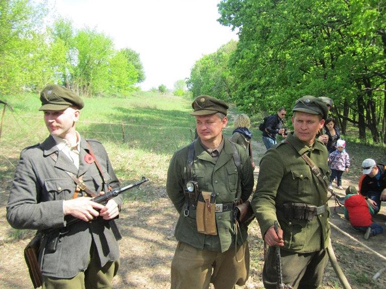Лагерь воинов УПА