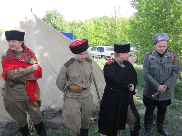 Рассказ о казаках на войне