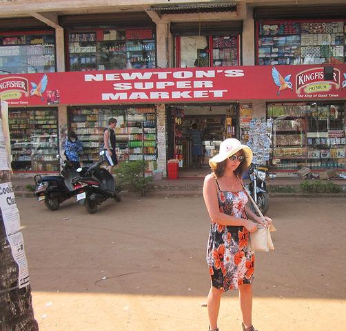 Супермаркет в Калангуте