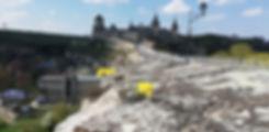 Ауриния цветет на камнях