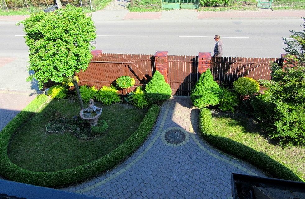 Вид с балкона нашего номера