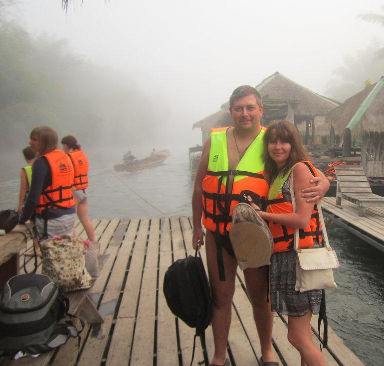 Готовимся к сплаву по реке Квай