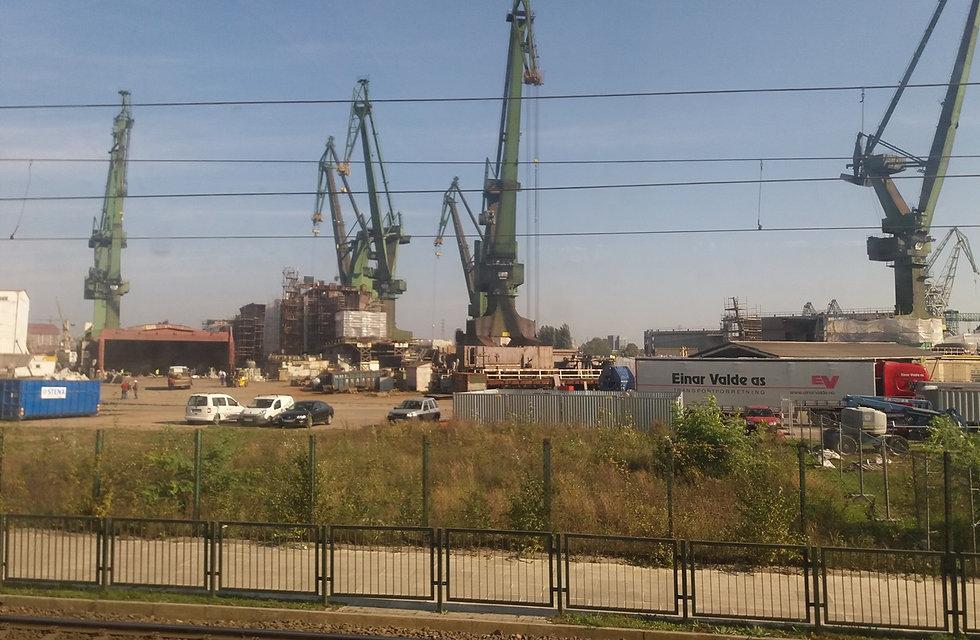 Гданьск, верфь