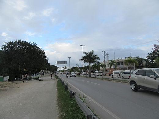 Главная улица в Тулуме