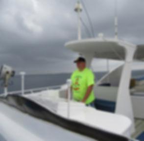 Штурвал на яхте