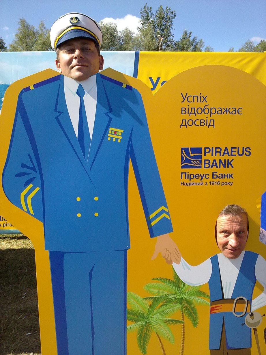 Папа-летчик с сынишкой ;-)