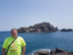 Скала, где жил циклоп Полифем