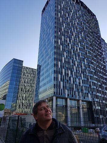 Небоскреб возле метро Мальбек, Брюссель