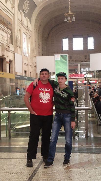 На вокзале Милана