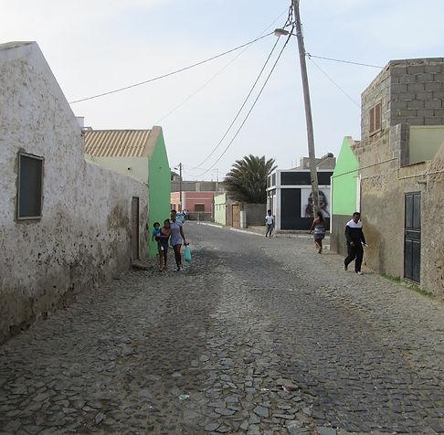Мощеная улица в Эшпаргуше
