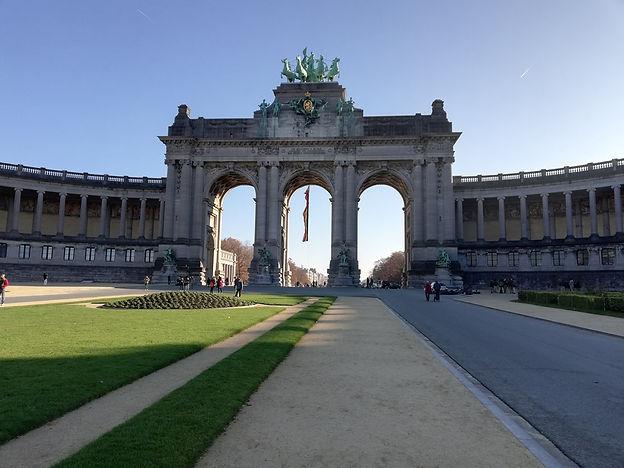 Триумфальная арка, Брюссель