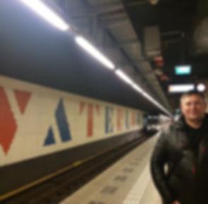 Метро Амстердама, станция Ватерлоо