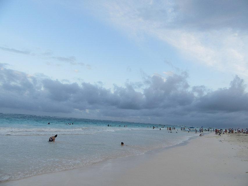Пляж в Тулуме