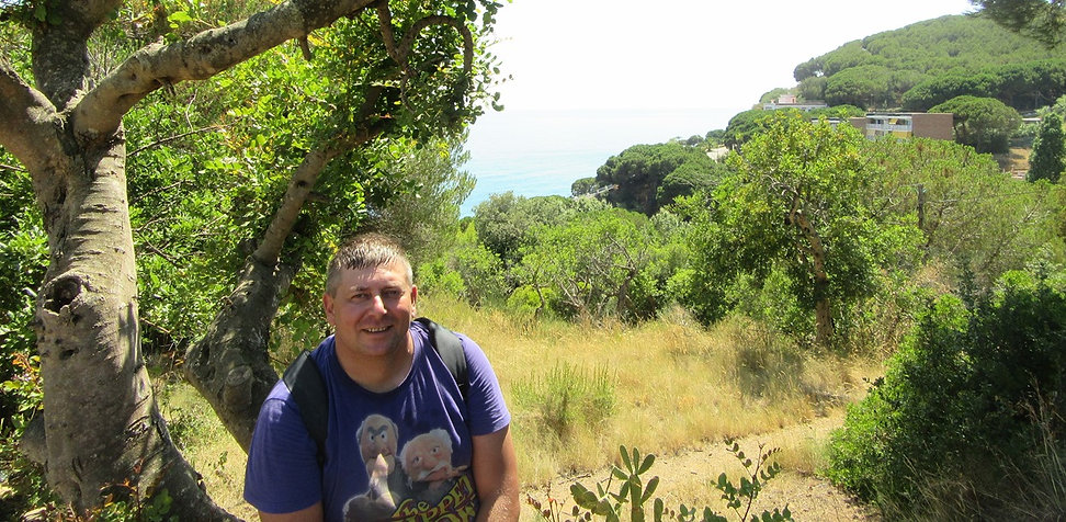 Холмы возле Калельи