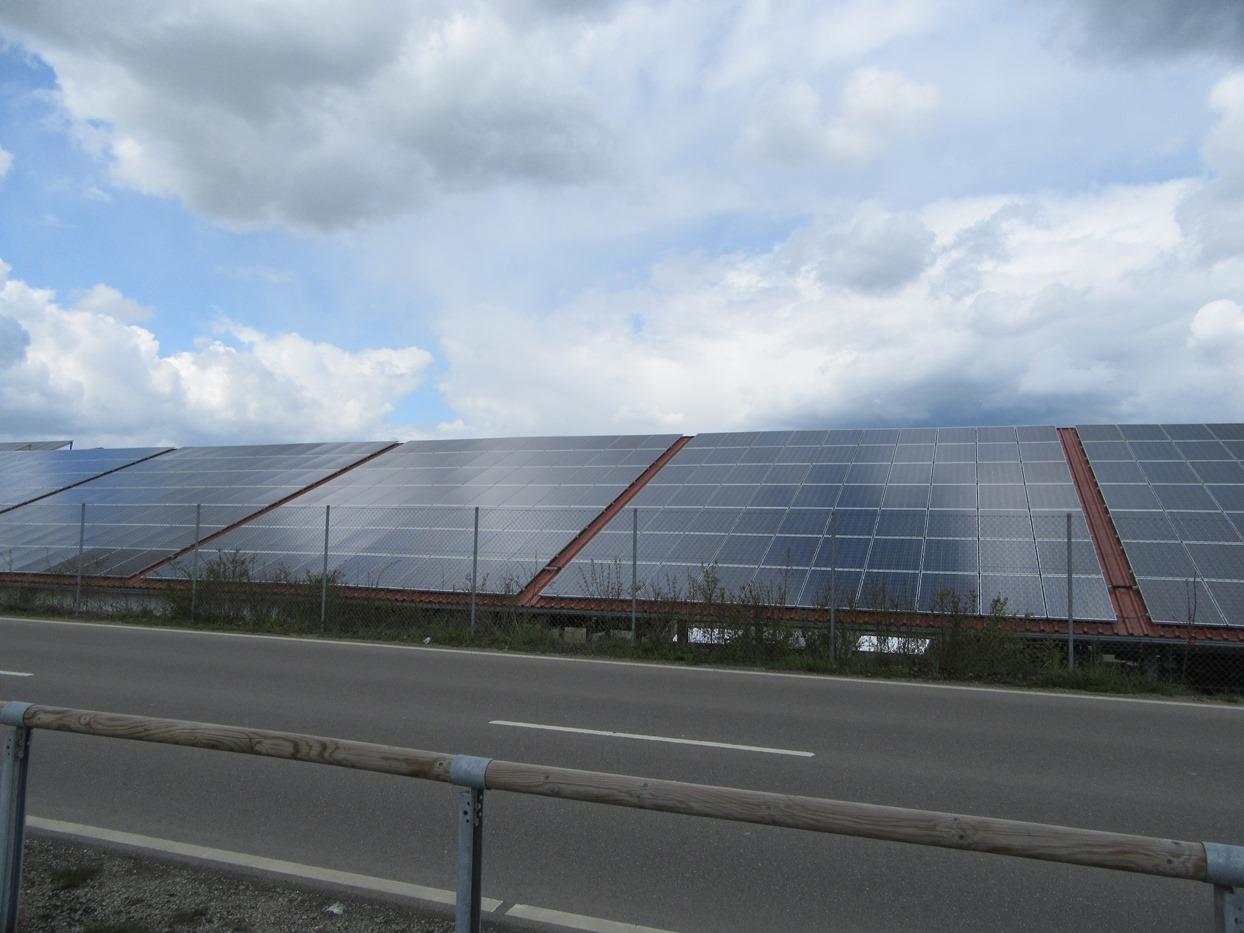 Солнечные панели повсюду!
