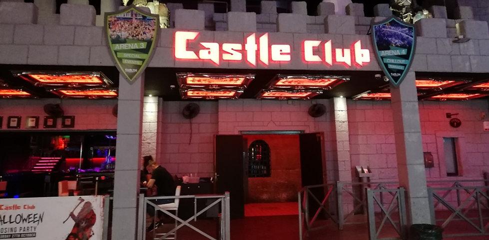 Ночной клуб Castle club в Айя-Напе