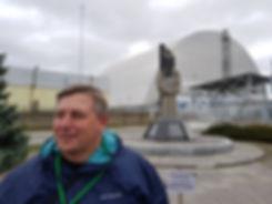 Саркофаг четвертого энергоблока ЧАЭС