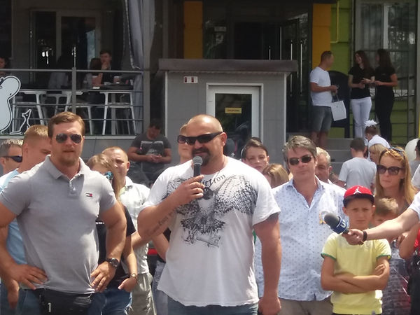 Знаменитые стронгмены Украины