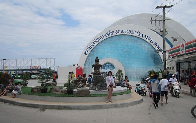 Порт острова Ко Самет