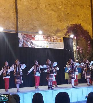 Украинцы на сцене фестиваля Alegria