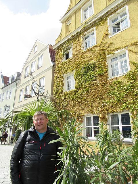Растения на улицах Меммингена