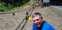 Бали. Фото на фоне обезьян