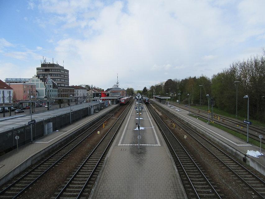 Вокзал Меммингена