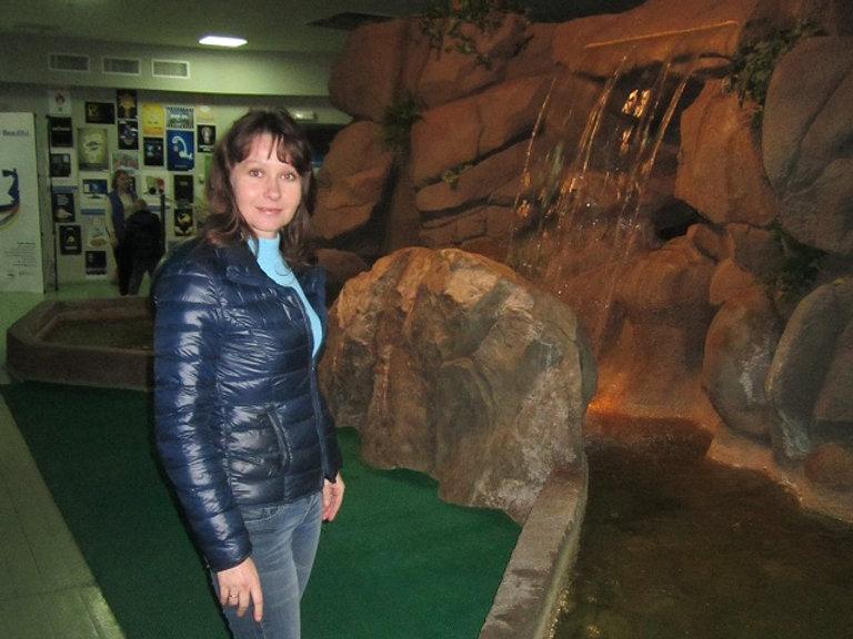 Водопад в Музее воды