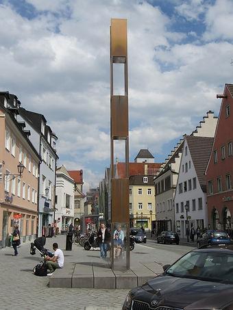 Поливалка на улице Меммингена