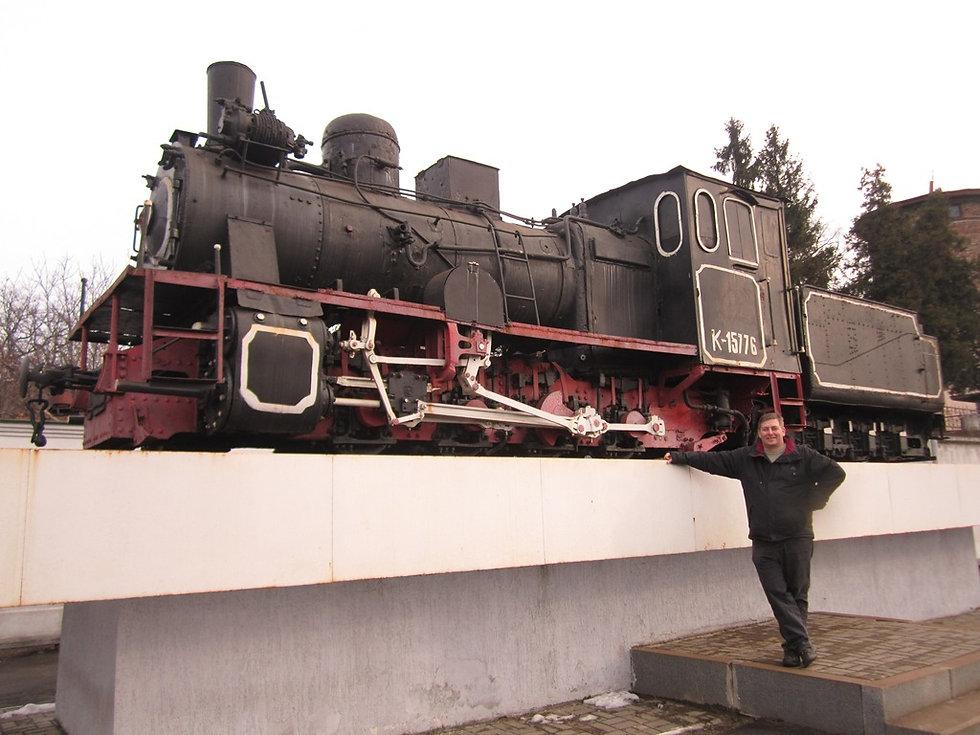 Поезд для узкоколейной дороги