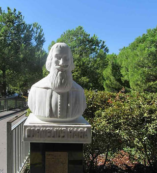 Памятник Корнелиусу Хаге