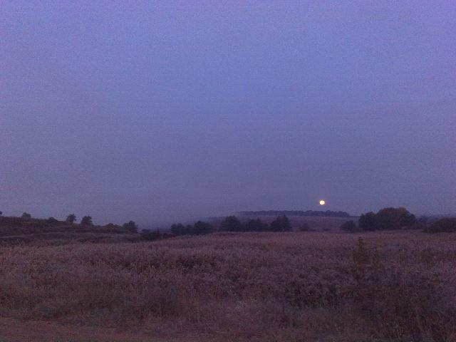 Перед рассветом в селе Песчаное