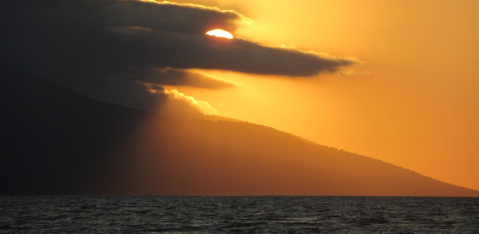 Албания, море, закат