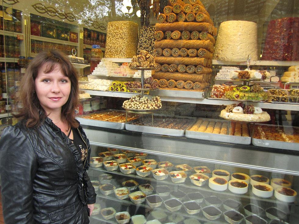 Турецкие сладости в Стамбуле