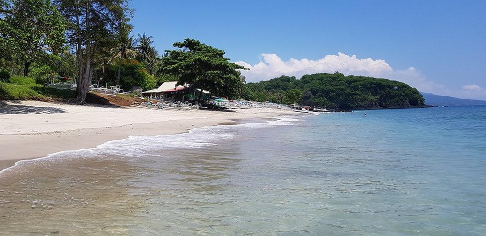 Белый пляж. Virgin beach. Бали