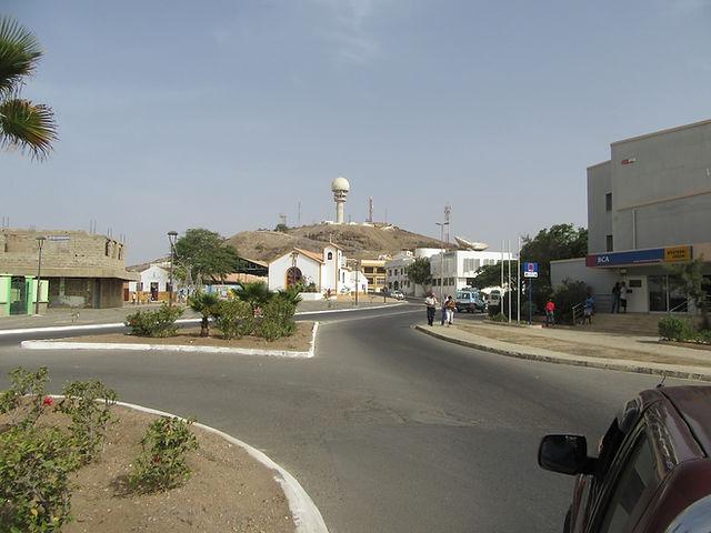 Эшпаргуш - столица острова Сал, Кабо-Верде