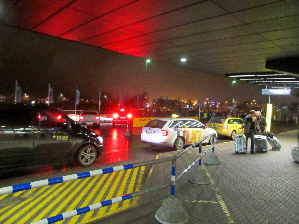 Такси в аэропорту Таллинна
