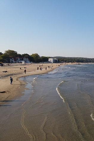 Морские волны в Сопоте