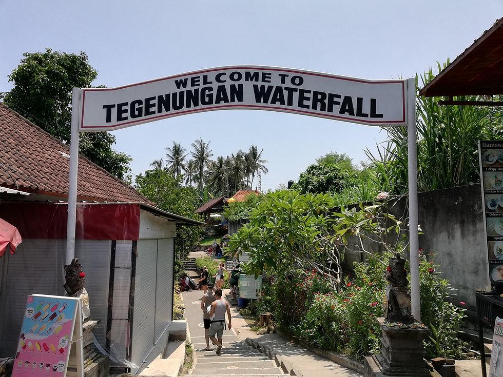 Добро пожаловать на водопад Тегенунган