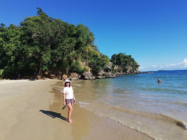 Nataly на городском пляже