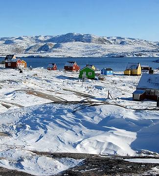 Домики в Гренландии