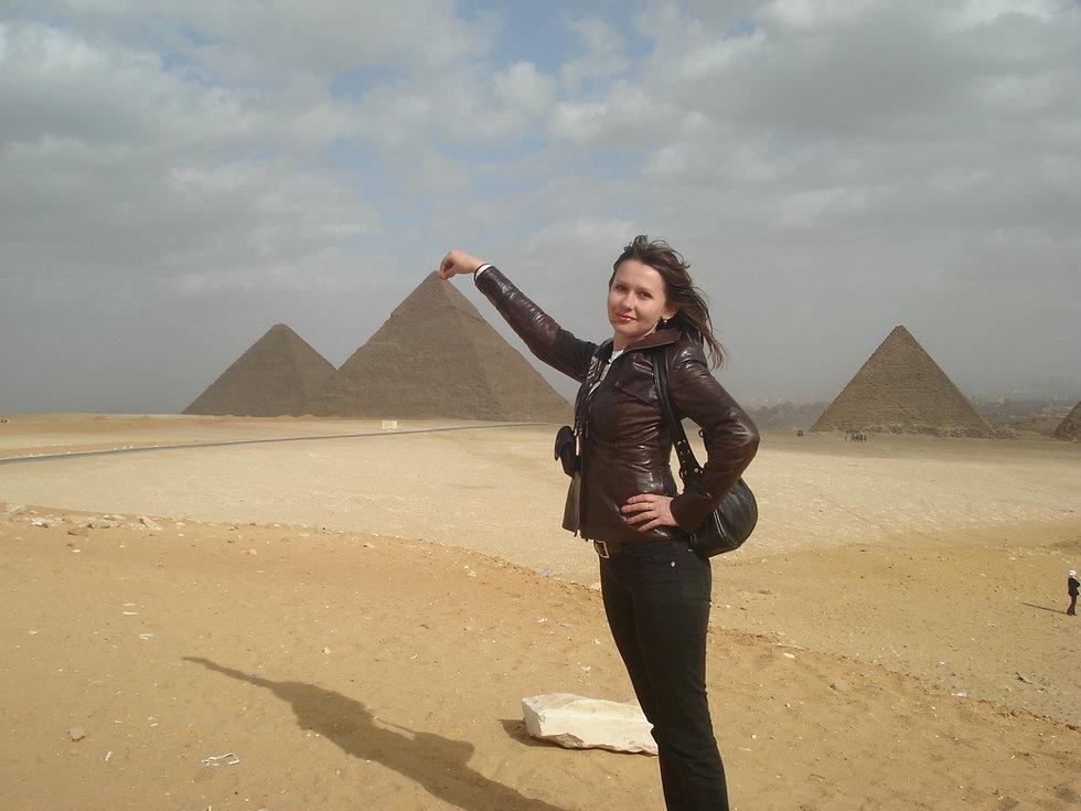 Поймали Пирамиду за верхушку