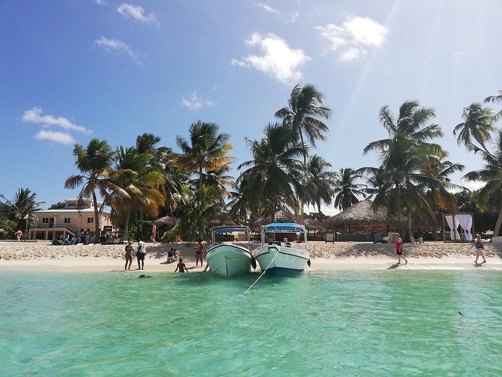 Поселок Катуано на острове Саона