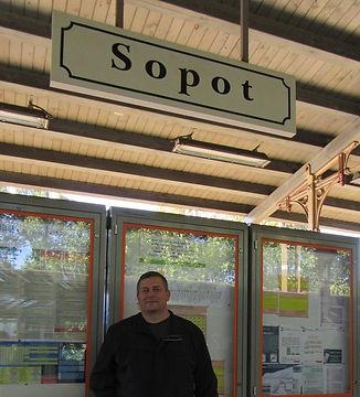 На вокзале Сопота