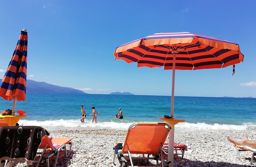 Радим, Албания, пляж