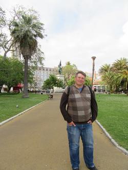 Одна из площадей Лиссабона