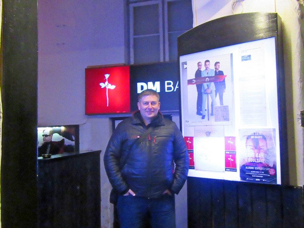"Бар ""Depeche mode"" в Таллинне"